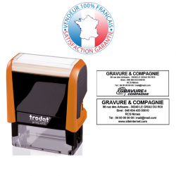 TRODAT METAL LINE 5203 | Empreinte 6 lignes 49 x 28 mm offerte