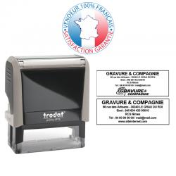 TRODAT METAL LINE 5204 | Empreinte 6 lignes 56 x 26 mm offerte