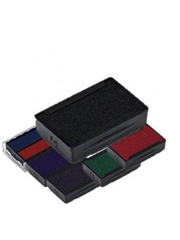 Cassette d'encrage TRODAT 6/4907 | 13 x 6 mm | Encre TRODAT 5 couleurs disponibles