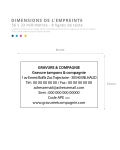 Tampon encreur TRODAT METAL LINE 5206