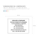 Tampon encreur TRODAT METAL LINE 5208