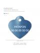 Médaille personnalisable chat