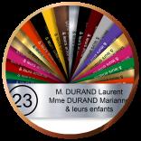 Plaque de boîte aux lettres personnalisée | 6,90€| Gravure&Compagnie