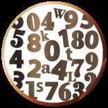 Numéros de rue découpé 12 cm | Gravure & Compagnie