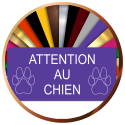Plaques de maison ATTENTION AU CHIEN